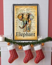 007 Elephant Mixed Parchment Poster STAR 11x17 Poster lifestyle-holiday-poster-4
