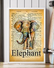 007 Elephant Mixed Parchment Poster STAR 11x17 Poster lifestyle-poster-4