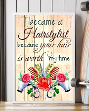 I BECAME A HAIRSTYLIST BECAUSE YOU HAIR POSTER 11x17 Poster lifestyle-poster-4