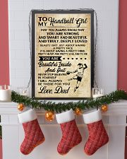 TO MY HANDBALL GIRL- DAD 16x24 Poster lifestyle-holiday-poster-4