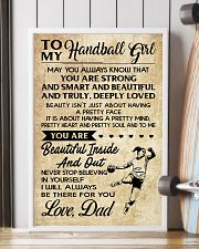 TO MY HANDBALL GIRL- DAD 16x24 Poster lifestyle-poster-4