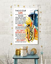 saxophone this is your life poster- LQT 01 16x24 Poster lifestyle-holiday-poster-3