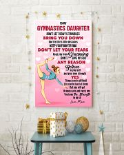 GYMASTICS - DON'T LET TODAY'S TROUBLES POSTER 11x17 Poster lifestyle-holiday-poster-3