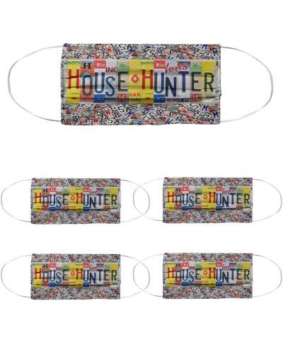 house hunter license plates mask