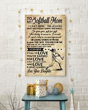 Softball - Loving Words Poster SKY 11x17 Poster lifestyle-holiday-poster-3