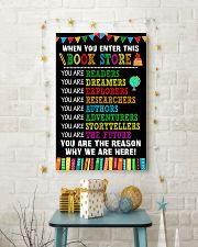 17 WHEN YOU ENTER THIS LIBRARY Poster KD 11x17 Poster lifestyle-holiday-poster-3