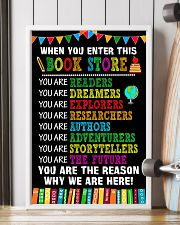 17 WHEN YOU ENTER THIS LIBRARY Poster KD 11x17 Poster lifestyle-poster-4