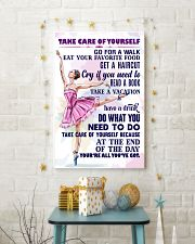 Take care of yourself - DANCE  11x17 Poster lifestyle-holiday-poster-3
