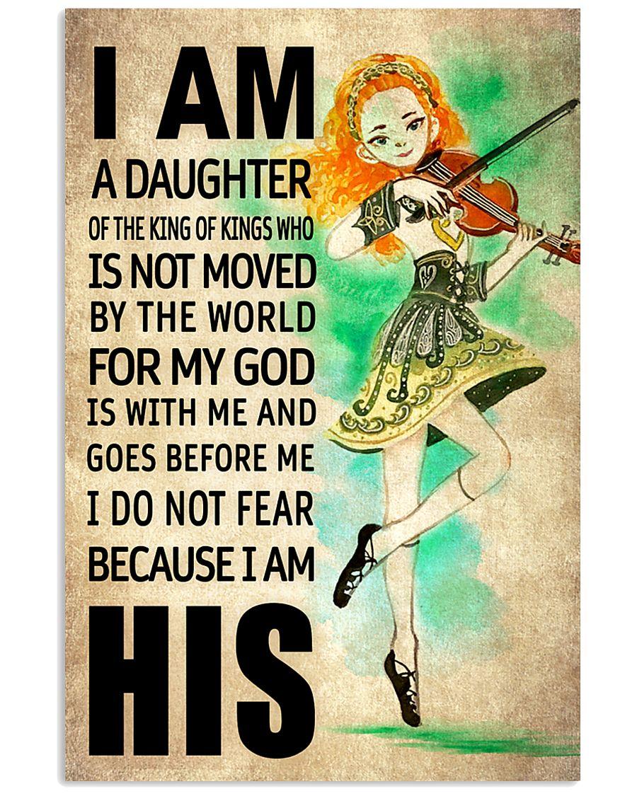 4 IRISH DAUGHTER - FOR MY GOD 16x24 Poster