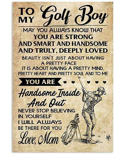 TO MY GOLF BOY - MOM