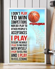 I DON'T PLAY TO WIN COMPETITIONS - BASKETBALL 11x17 Poster lifestyle-poster-4