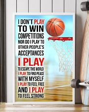 I DON'T PLAY TO WIN COMPETITIONS - BASKETBALL 16x24 Poster lifestyle-poster-4