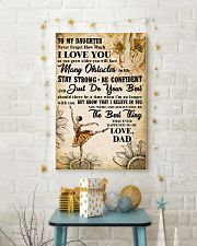 TO MY DAUGHTER - I LOVE YOU -Dance 11x17 Poster lifestyle-holiday-poster-3