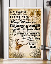 TO MY DAUGHTER - I LOVE YOU -Dance 11x17 Poster lifestyle-poster-4