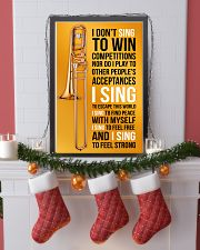 8 TROMBONE - I DON'T SING TO WIN COMPETITION 11x17 Poster lifestyle-holiday-poster-4