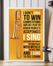 8 TROMBONE - I DON'T SING TO WIN COMPETITION 11x17 Poster lifestyle-poster-4
