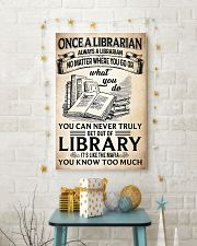 Once a Librarian Poster 11x17 Poster lifestyle-holiday-poster-3