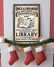 Once a Librarian Poster 11x17 Poster lifestyle-holiday-poster-4