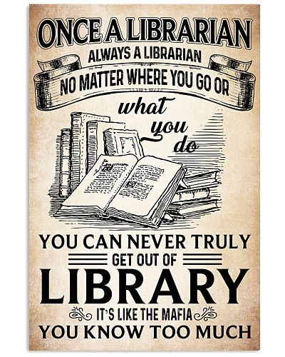 Once a Librarian Poster