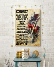 motocross EVERYDAY IS A NEW 11x17 Poster lifestyle-holiday-poster-3