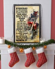 motocross EVERYDAY IS A NEW 11x17 Poster lifestyle-holiday-poster-4