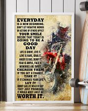 motocross EVERYDAY IS A NEW 11x17 Poster lifestyle-poster-4