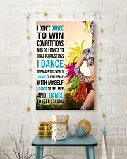 I DON'T Samba DANCE TO WIN COMPETITION 11x17 Poster lifestyle-holiday-poster-3