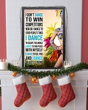 I DON'T Samba DANCE TO WIN COMPETITION 11x17 Poster lifestyle-holiday-poster-4