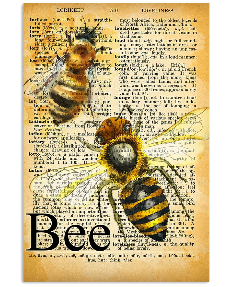 007 Bee Mixed Parchment Poster STAR 11x17 Poster