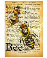 007 Bee Mixed Parchment Poster STAR 11x17 Poster front
