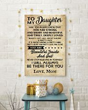 TO MY DAUGHTER 16x24 Poster lifestyle-holiday-poster-3
