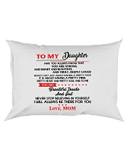 TO MY DAUGHTER Rectangular Pillowcase thumbnail