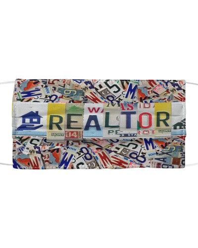 REALTOR license plates Mask
