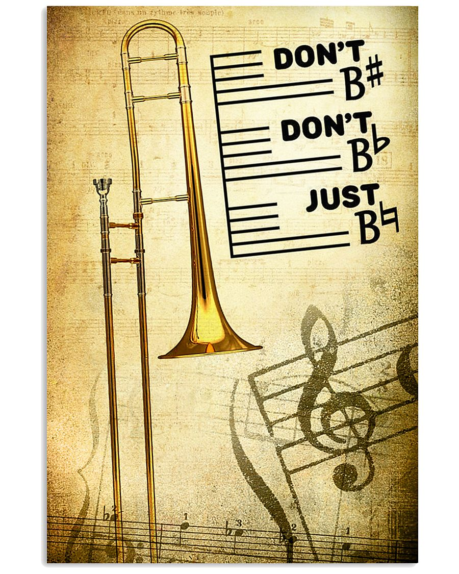 Trombone - Don't don't Just SKY 11x17 Poster