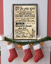 TO MY JIU JITSU GIRL - DAD 16x24 Poster lifestyle-holiday-poster-4