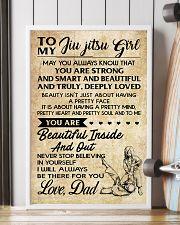 TO MY JIU JITSU GIRL - DAD 16x24 Poster lifestyle-poster-4