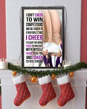 22 - I DON'T CHEER TO WIN COMPETITIONS - PURPLE 11x17 Poster lifestyle-holiday-poster-4