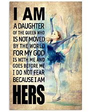 SKATING DAUGHTER - FOR MY GOD 16x24 Poster front