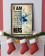 SKATING DAUGHTER - FOR MY GOD 16x24 Poster lifestyle-holiday-poster-4