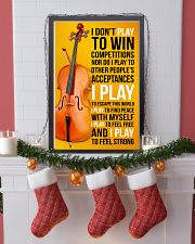 CELLO - I DON'T PLAY TO WIN COMPETITIONS 11x17 Poster lifestyle-holiday-poster-4