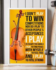 CELLO - I DON'T PLAY TO WIN COMPETITIONS 11x17 Poster lifestyle-poster-4
