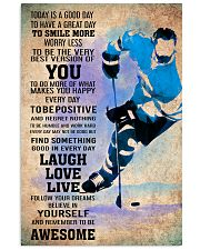 ICE HOCKEY - TODAY IS A GOOD DAY POSTER 11x17 Poster front