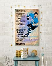 ICE HOCKEY - TODAY IS A GOOD DAY POSTER 11x17 Poster lifestyle-holiday-poster-3