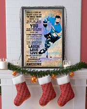 ICE HOCKEY - TODAY IS A GOOD DAY POSTER 11x17 Poster lifestyle-holiday-poster-4