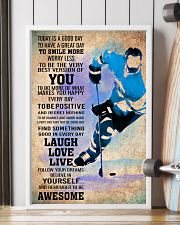 ICE HOCKEY - TODAY IS A GOOD DAY POSTER 11x17 Poster lifestyle-poster-4