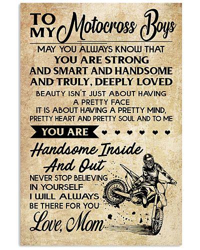 5 TO MY Motocross Boys - Mom
