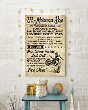 5 TO MY Motocross Boys - Mom 11x17 Poster lifestyle-holiday-poster-3