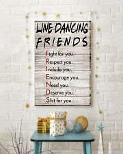 1 Line Dancing Friends - Poster 11x17 Poster lifestyle-holiday-poster-3