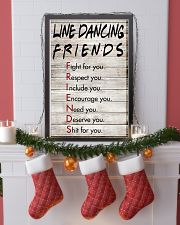 1 Line Dancing Friends - Poster 11x17 Poster lifestyle-holiday-poster-4
