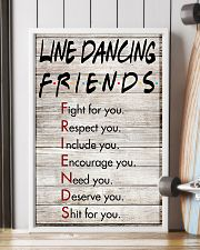 1 Line Dancing Friends - Poster 11x17 Poster lifestyle-poster-4